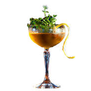 Evening Thyme Cocktail Brian Maule