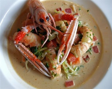 Ragout Of Langoustines May 2016