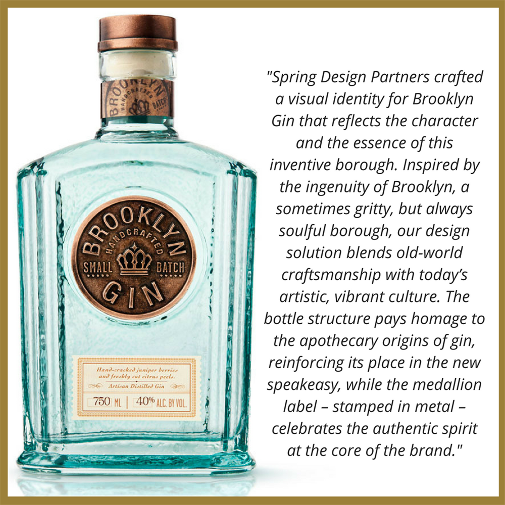 Brooklyn Gin Bottle Design Quote (1)