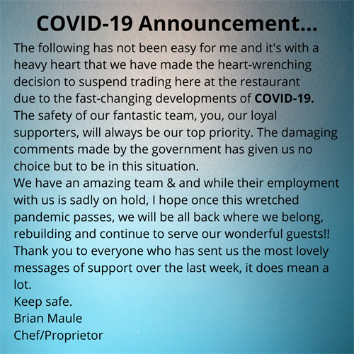 FB COVID Announcement
