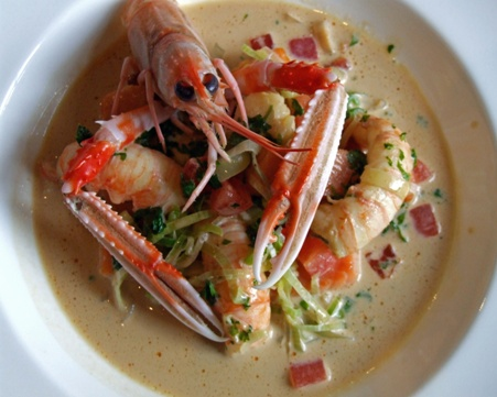 Ragout of langoustines recipe by chef brian maule Bhg recipes may 2016